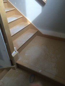 That pesky extra step in my staircase - but love the NO ladder
